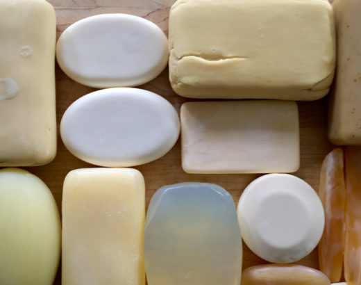 assorted bars of soap